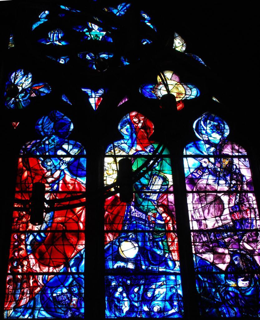 Vitraux Metz vitraux chagall à metz