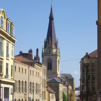 Eglise saint martin de metz clocher 01