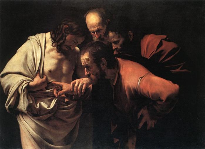 L incre dulite de saint thomas le caravage